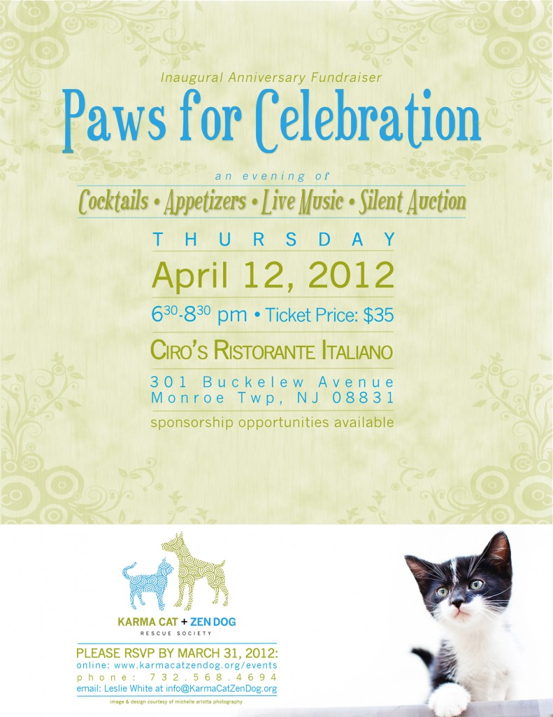 Paws for Celebration poster