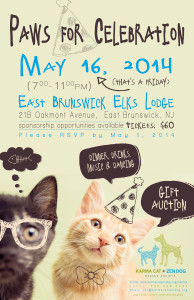 Paws for Celebration 2014 Flyer