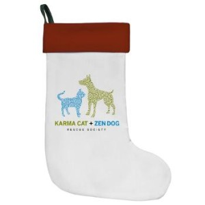 karma_cat_zen_dog_christmas_stocking