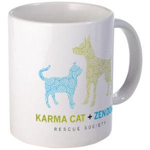 karma_cat_zen_dog_mug