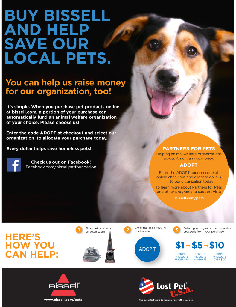 Partners for Pets Organization Poster