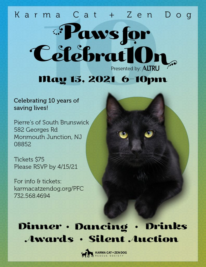 Paws for Celebration flyer