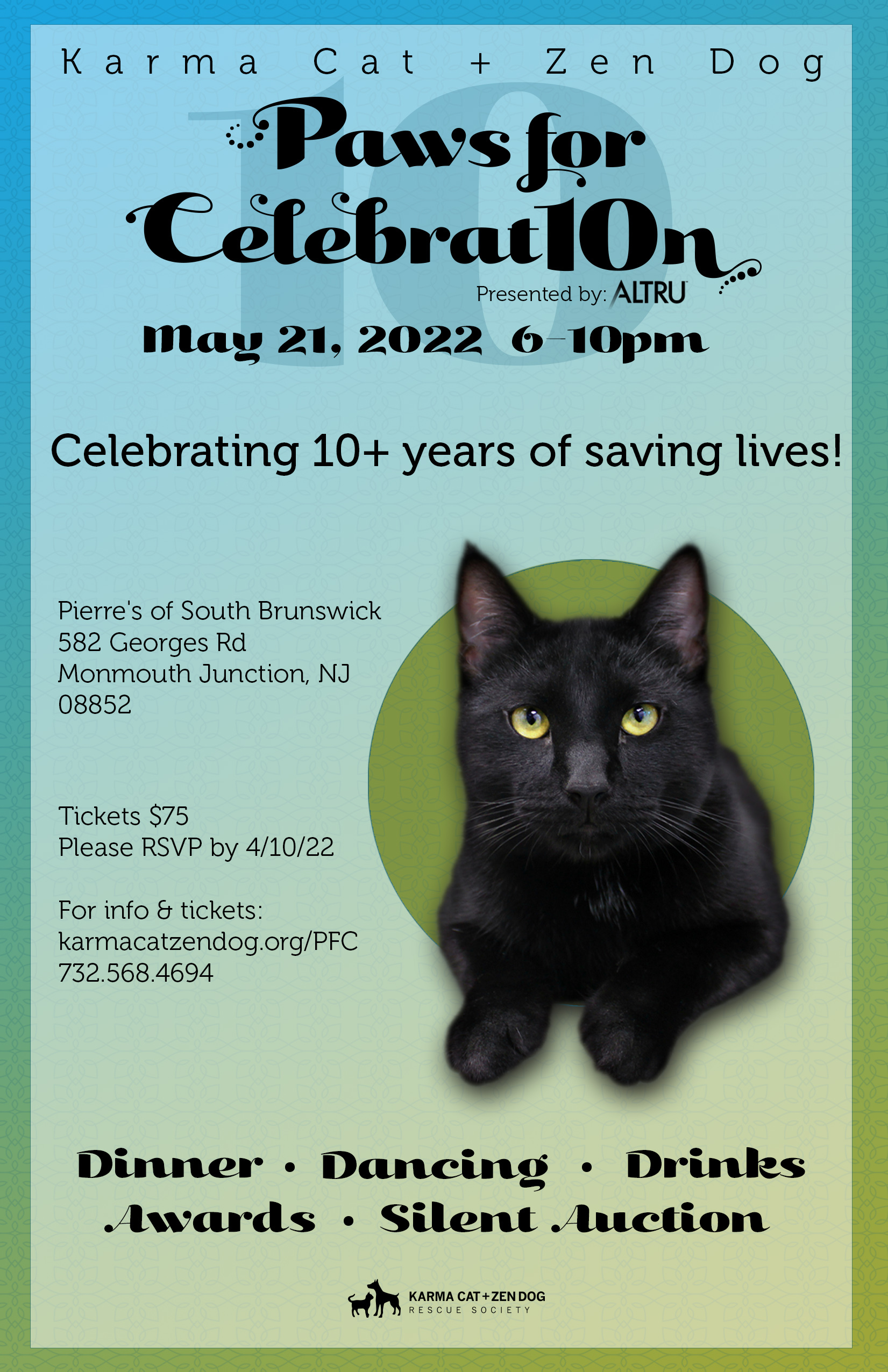 Paws for Celebration flyer